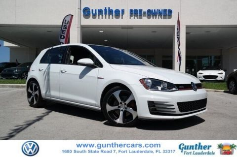 Pre-Owned 2016 Volkswagen Golf GTI SE 4-Door