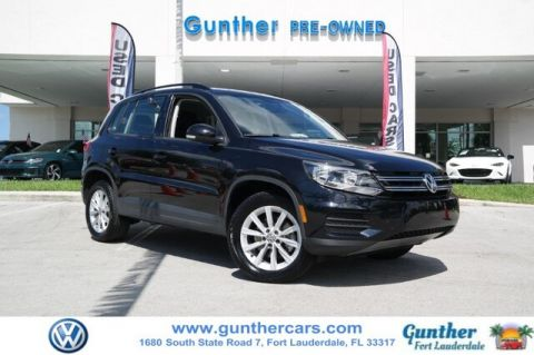 Pre-Owned 2017 Volkswagen Tiguan 2.0T Limited